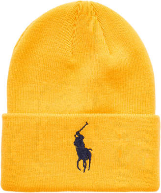 Polo Ralph Lauren Men Big Pony Cuffed Hat