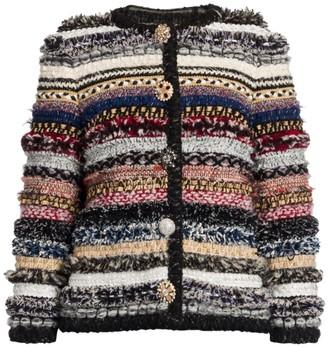 Dolce & Gabbana Multi Stripe Knit Jacket