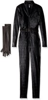 Forplay Fierce Feline Ears, Mas, Jumpsuit, Belt, Gloves