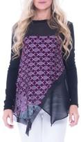 Olian Women's Print Layered Maternity Top