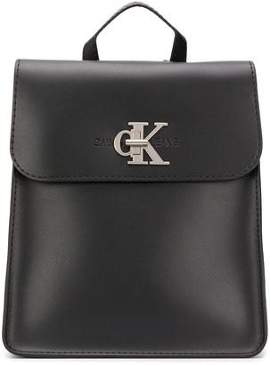 Calvin Klein Jeans Logo Plague Backpack