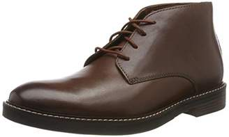 Clarks Men's Ankle Boots Brown Size: