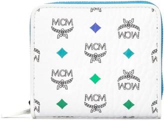 MCM Logo Print Wallet