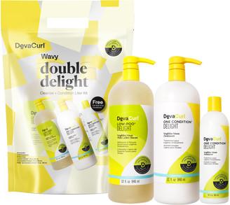DevaCurl Double Delight Cleanse & Condition Jumbo Set
