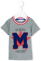 Little Marc Jacobs m appliqué T-shirt - kids - Cotton - 12 mth