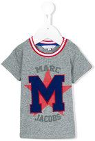 Little Marc Jacobs m appliqué T-shirt - kids - Cotton - 3 mth