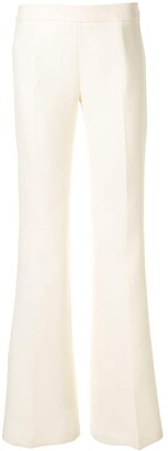 Giambattista Valli Flared Mid-Rise Trousers