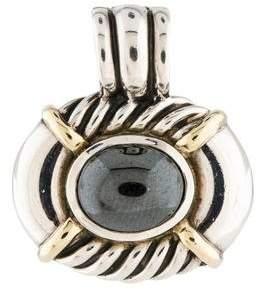 David Yurman Two-Tone Hematite Pendant