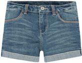 Levi's Girls 4-6x Thick Stitch Shortie Denim Shorts