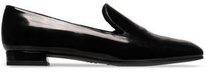 Stuart Weitzman Patent-leather Loafers