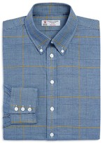 Turnbull & Asser Windowpane Classic Fit Dress Shirt - 100% Bloomingdale's Exclusive