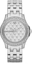 Armani Exchange Ladies Hampton Stainless Steel Watch