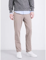 Brunello Cucinelli Traditional-fit Skinny Mid-rise Cotton-twill Chinos