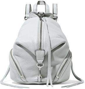 Rebecca Minkoff Julian Convertible Pebbled-leather Backpack