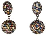MCL by Matthew Campbell Laurenza Multicolor Sapphire Ball Drop Earrings