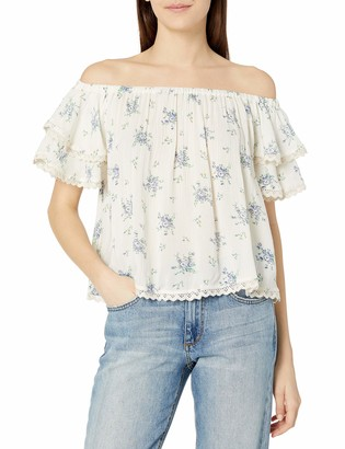 Angie Women's Off The Shoulder Short Sleeve Top