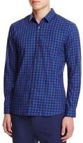 HUGO Plaid Slim Fit Button Down Shirt