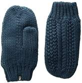 The North Face Cable Minna Mitt (Blue Wing Teal) Extreme Cold Weather Gloves