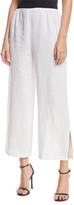 Caroline Rose Tissue Linen Wide-Leg Pants