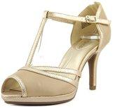 Bandolino Steam Women US 5.5 Gold Sandals