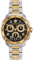 Versace 'Dylos' Chronograph Bracelet Watch, 44Mm
