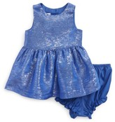 Frais Infant Girl's Metallic Fit & Flare Dress