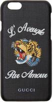 Gucci Black 'L'Aveugle Par Amour' iPhone 6 Case