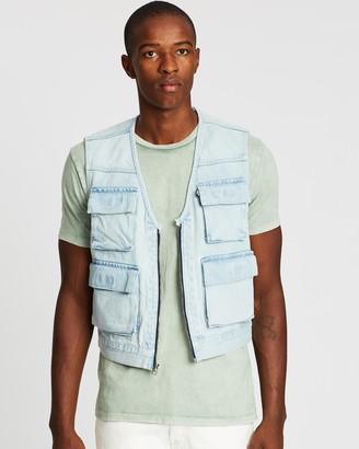 Levi's Made & Crafted LMC Denim Cargo Vest