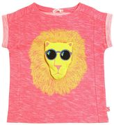 Billieblush Lion Printed Cotton Jersey T-Shirt