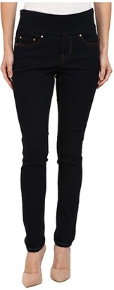Jag Jeans Petite Petite Nora Pull-On Skinny Jeans (After Midnight) Women's Jeans