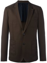 Ami Alexandre Mattiussi half lined 2 button jacket - men - Virgin Wool - 50
