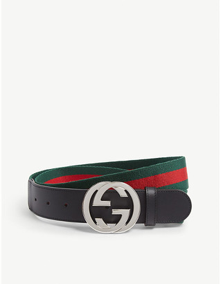 Gucci Web Band Belt
