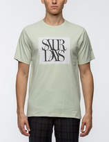 Saturdays NYC Saturdays Overlap S/S T-Shirt