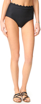 Kate Spade Marina Piccola High Waist Bikini Bottoms