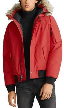Polo Ralph Lauren Faux-Fur-Trim Down Jacket