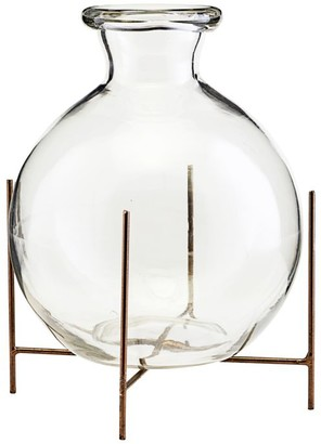 House Doctor - Large Glass Lana Vase with Frame