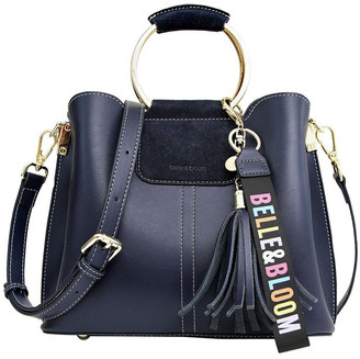 Belle & Bloom TWIX20NAVY Twilight Zip Top Crossbody Bag