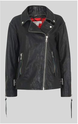 Whistles Lily Easy Tumbled Biker