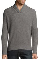 Saks Fifth Avenue Rib-Knit Cashmere Sweater