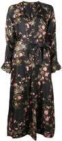 Isabel Marant floral print Olympia dress - women - Silk - 36