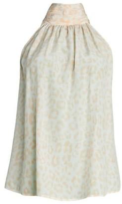 Erola Silk Halter Top