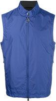 Z Zegna sleeveless zip jacket - men - Polyamide/Polyester - M