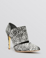Rupert Sanderson Pointed Toe Booties - Pinkbell High Heel