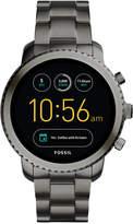 Fossil Q Men's Explorist Gen 3 Black Stainless Steel Bracelet Touchscreen Smart Watch 46mm