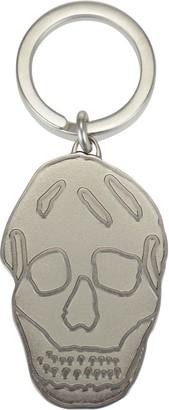 Alexander McQueen Skull Logo Keyring