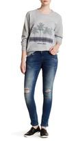 Anine Bing Cropped Denim Skinny Jean