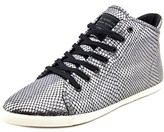 Marc by Marc Jacobs Cara Hi Top Women Leather Gray Fashion Sneakers.