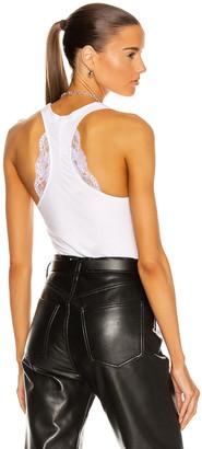 La Perla Souple Bodysuit in White | FWRD