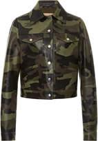 Michael Kors Camo Bomber Jacket
