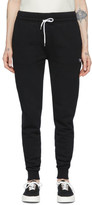 MAISON KITSUNÉ Black Tricolor Fox Lounge Pants